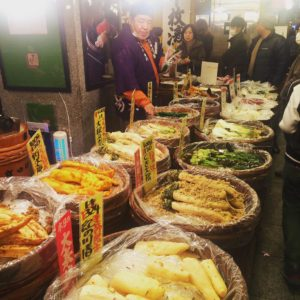 Fancy some japanese pickled vegetables anyone? kyoto kyotomarket japon Japanhellip