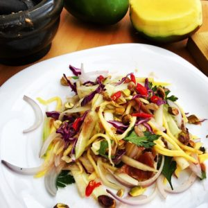 Exotic salad for lunch httpwwwsabororientalcom mango recipe vegetarianfood healthyfood malaysianfoodhellip